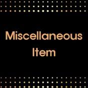 Miscellaneous Item (20)