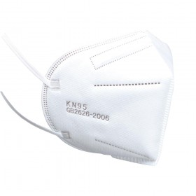 KN95 DISPOSABLE SAFETY FACE MASK BLOCKING DUST AIR POLLUTION