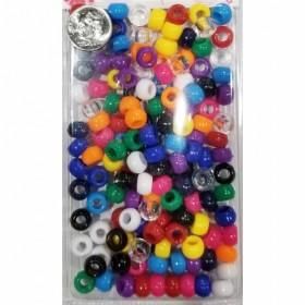 Girls Plastic Pony Beads #1736