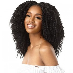 Outre Human Hair Blend Big Beautiful Hair Clip In 9 - 4A KINKY CURLY
