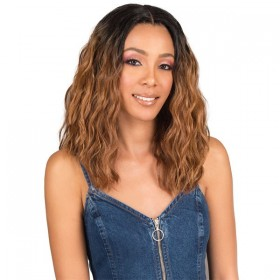 Bobbi Boss Premium Synthetic Swiss Lace Front Wig MLF208 RINA