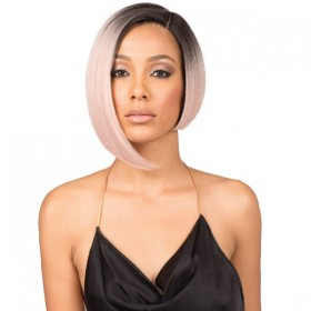 Bobbi Boss Premium Synthetic Swiss Lace Front Wig MLF219 NADINE SHORT