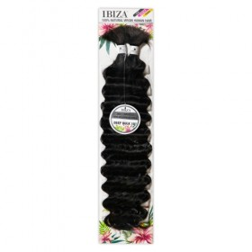 Milky Way Natural Virgin Human Hair Braids Ibiza Deep Bulk 18""