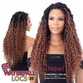 Mayde Beauty 3X WATERFALL BRAIDS 20""