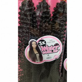 Mayde Beauty 3X WATER CURL 20""