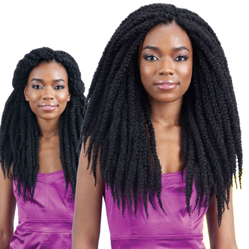 FreeTress Braid 3X Crochet Braids Punta Cana Twist