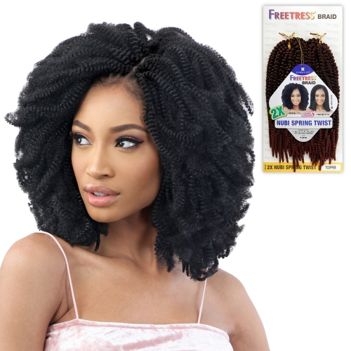 FreeTress Crochet Braids 2X Nubi Spring Twist