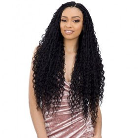 Freetress Synthetic Crochet Braids BOHO HIPPIE BRAID 22""
