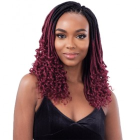 Freetress Crochet Braid STRAIGHT GORGEOUS LOC 12""