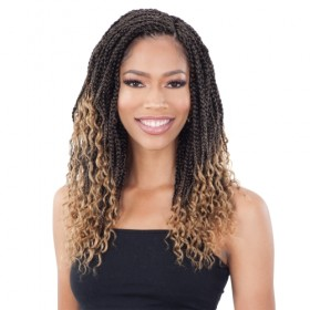 Freetress Synthetic Crochet Braids 2X HIPPIE BRAID 12""