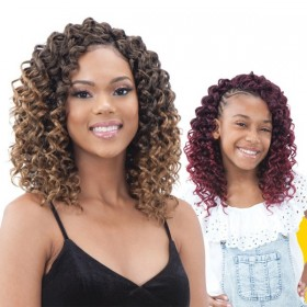 Freetress Synthetic Crochet Braid GOGO CURL JR