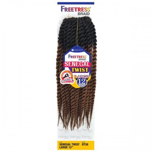 "Freetress Braid Senegalese Twist Large 12"""