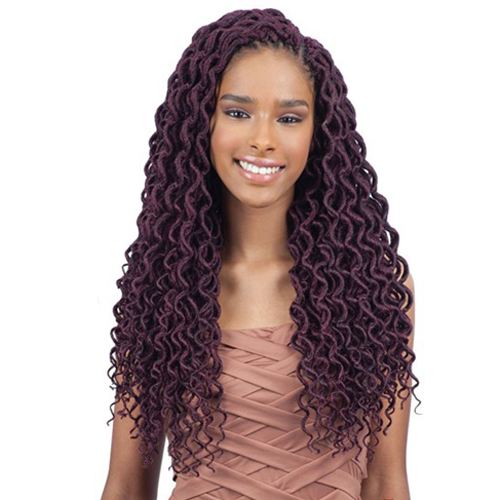 FreeTress Braid 2X Soft Faux Locs Curly Lite 18""