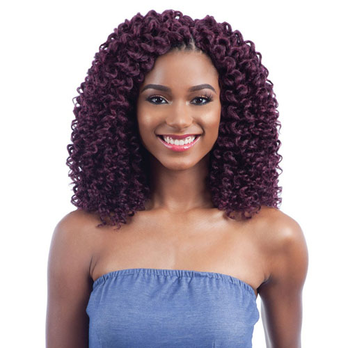 FreeTress Braid 2X Wand Curl Crochet Braid Soft Baby Curl