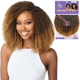 Outre Human Hair Blend Big Beautiful Hair Clip In 9 - 4C Coily Fro 10""