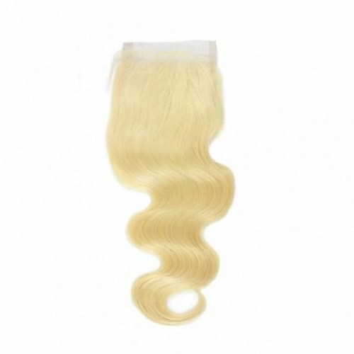 SHAKE-N-GO Unprocessed 100% Natural Human Hair 9S BODY WAVE LACE 4 X 4 CLOSURE 12""