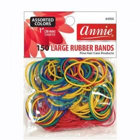 Annie 150 Rubber Bands #3150 Assort