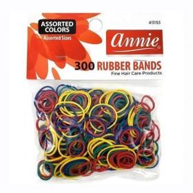 Annie 300 Rubber Bands #3153 Assort