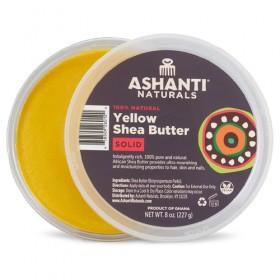 Ashanti Naturals 100% Solid African Yellow Shea Butter