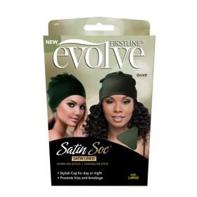 Evolve Satin Soc Olive