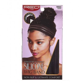 Red by Kiss Stretchy & Comfy Silicone Wig Band