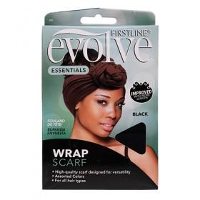 Evolve Wrap Scarf  #305 Black