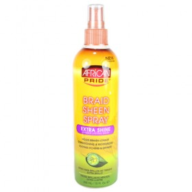 African Pride Braid Sheen Extra Spray 12oz
