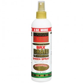 African Royale BRX Braid and Extensions Sheen Spray 12oz