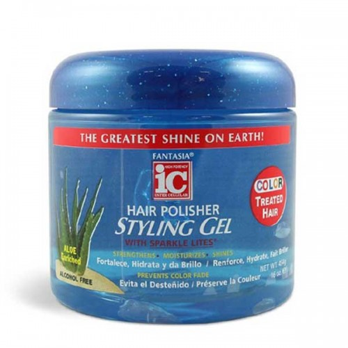 Hair polisher fantasia ic hair polisher gel color treated hair 16oz sciox Images
