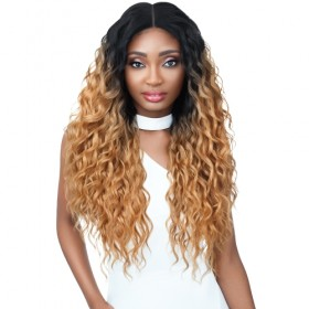 Outre Synthetic Double U Vixen Swiss Lace Front Wig JORDYN