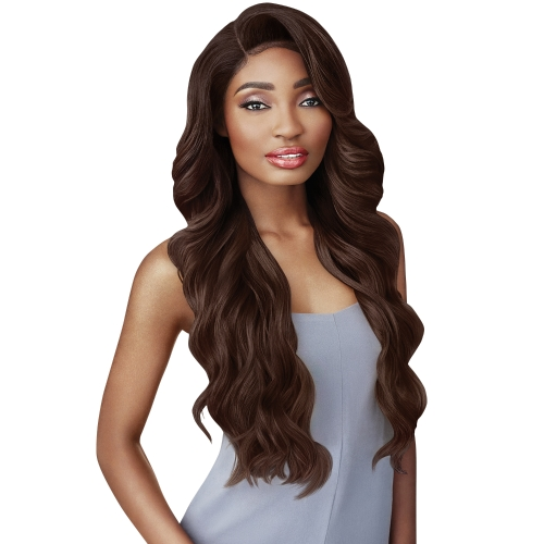 Outre Synthetic Double U Vixen Swiss Lace Front Wig KRISTIA