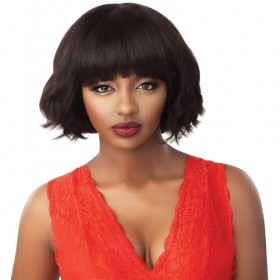 Outre Unprocessed Human Hair Fab & Fly Full Cap Wig HH EVELYN