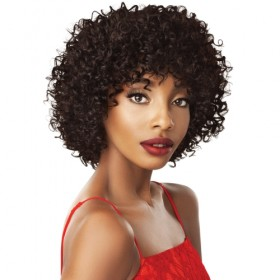 Outre Unprocessed Human Hair Fab & Fly Full Cap Wig HH GEORGIA