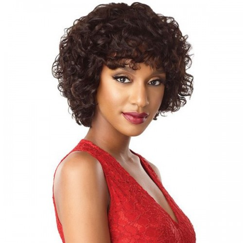 Outre Unprocessed Human Hair Fab & Fly Full Cap Wig HH LORENE