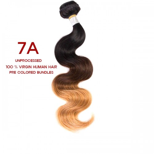 Shake n go Virgin Human Hair Weave 7A Body Wave (Special Colors)