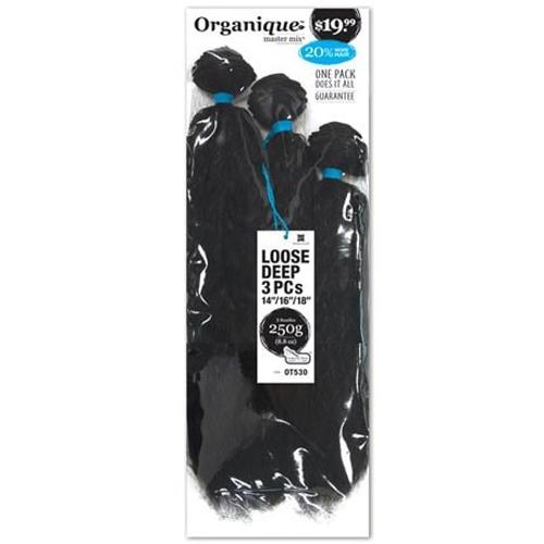 Shake N Go: Organique Loose Deep 3pcs 14/16/18 - Beauty