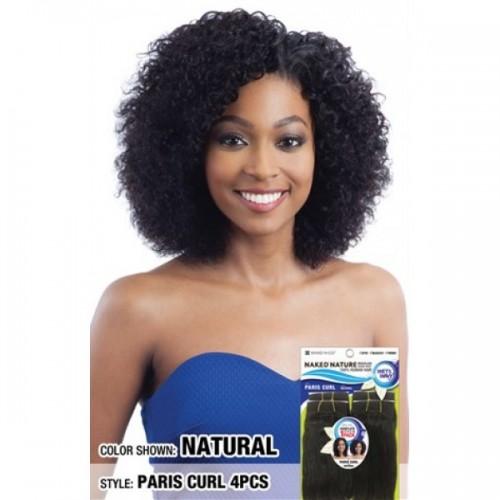 Shake-N-Go Naked Nature Wet & Wavy 100% Brazilian Virgin Remy Human Hair Weave PARIS CURL