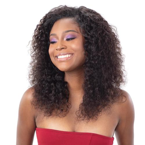 Shake N Go Virgin Human Hair IBIZA Wet & Wavy DEEP CURL 3Pcs