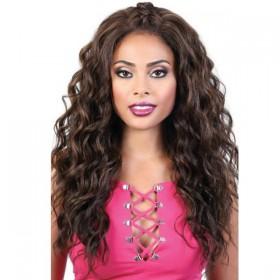 Motown Tress Human Hair Premium Mix 360 Lace Wig HB360L BAE