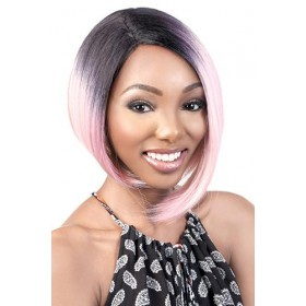 Motown Tress C-Curve Deep Lace Part Wig - DP. SMOKY