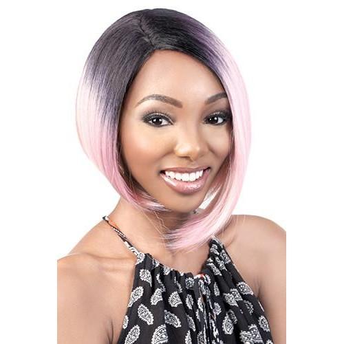 Motown Tress C-Curve Deep Lace Part Wig - DP. SMOKY