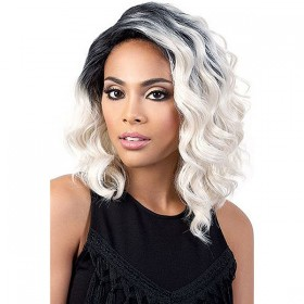 Motown Tress Synthetic Deep Lace Part Wig DP.ZOE