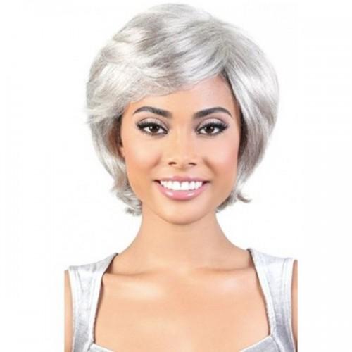 Motown Tress Silver Gray Hair Collection Wig - SH.EVELYN