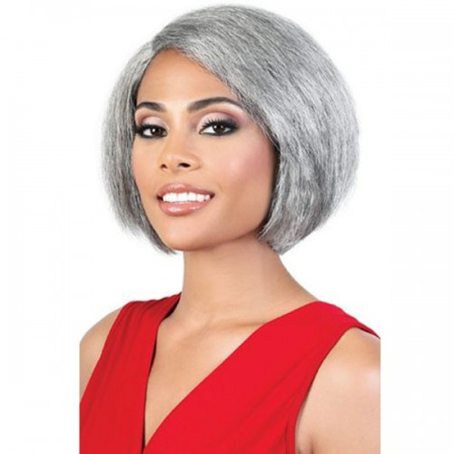 Motown Tress Silver Gray Hair Collection Wig - S JADA