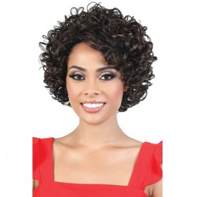Motown Tress Silver Gray Hair Collection  Wig - S.TISHA