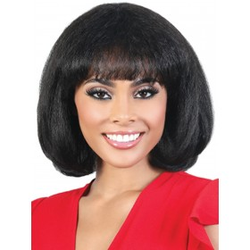 Motown Tress Silver Gray Hair Collection  Wig - S.ZIMI