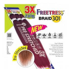 "Freetress Synthetic Braid 3X Pre-Stretched Braid 301 28"""