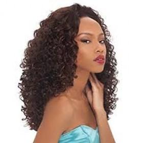 Human Hair Blend Half Wigs