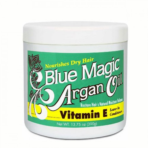 Blue Magic Argan Oil Vitamin E Leave-In Conditioner 13.75oz