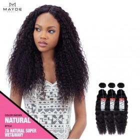 Mayde 7A Super Wet & Wavy 100% Human Hair 3pcs super bundle sale